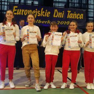 Europejskie Dni Tańca w Malborku uwieńczone wielkim sukcesem solistów, duetów oraz formacji!